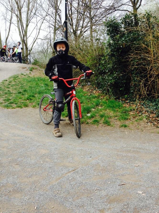 Harper BMXing